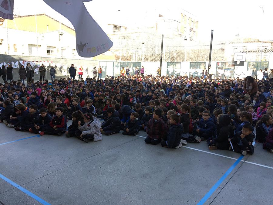 Dia de la Pau Escola Montserrat