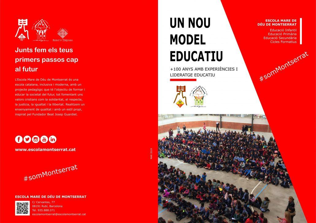 Folder Escola Montserrat
