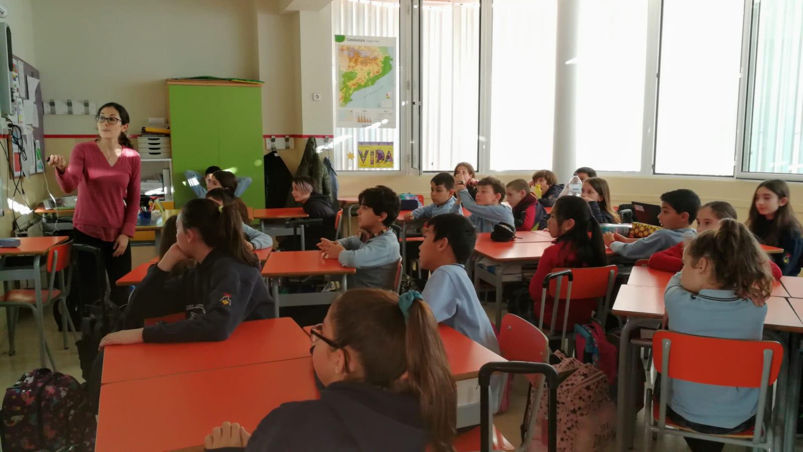 Xerrada Escola Montserrat