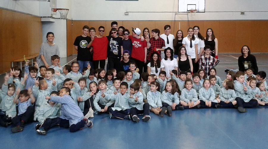 Aeròbic a l'Escola Montserrat