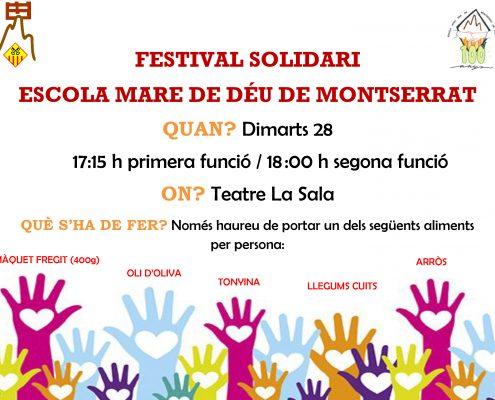 Festival Solidari Escola Montserrat