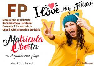 Matricula Oberta Formació Professional Escola Montserrat