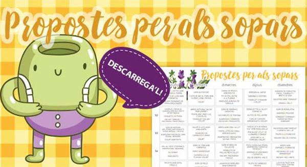 Propostes d'esmorzars, berenars i sopars Campos Estela