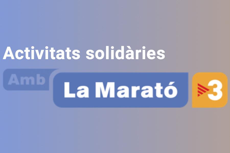 La Marato TV3 Escola Montserrat Rubi