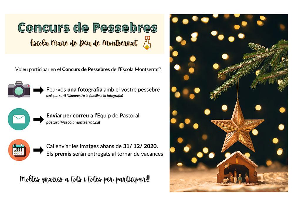 Consurs Pessebres 2020 Escola Montserrat