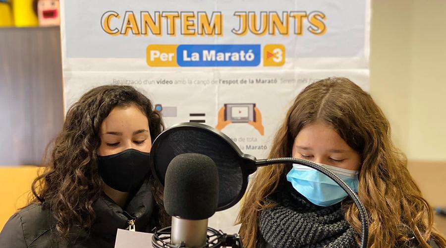 La Marato TV3 - Escola Montserrat Rubi