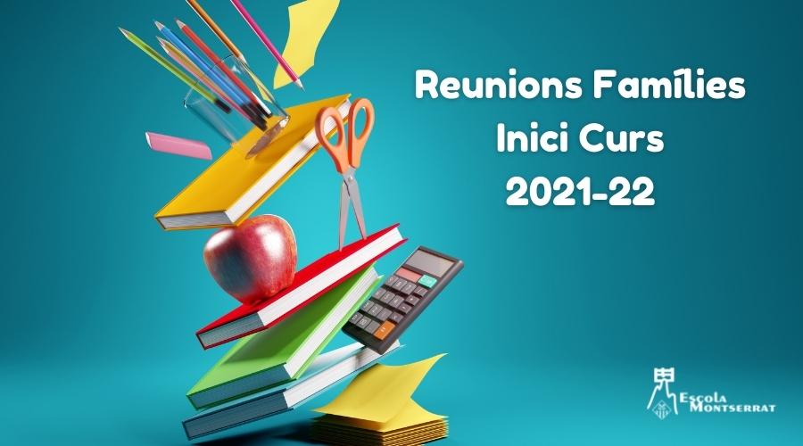 Reunions Inici Curs 2021-22 Web